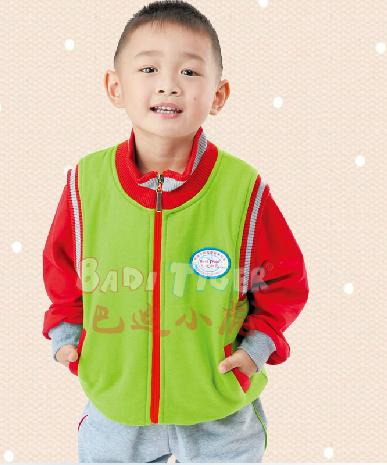 巴迪小虎2013新款男童童装幼儿园园服保暖校服服