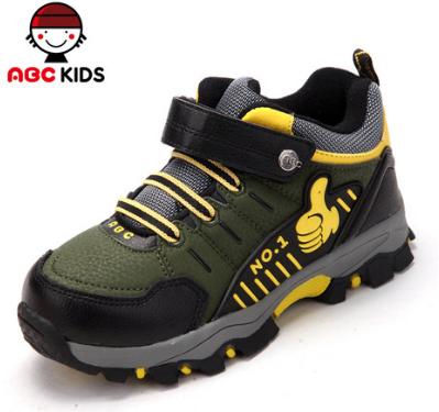 ABC童鞋兒童棉靴男童冬款2013新款 高幫加絨戶外鞋