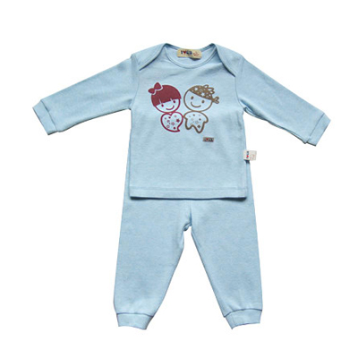 下一代品牌童装批发婴幼儿全棉新款插肩套装