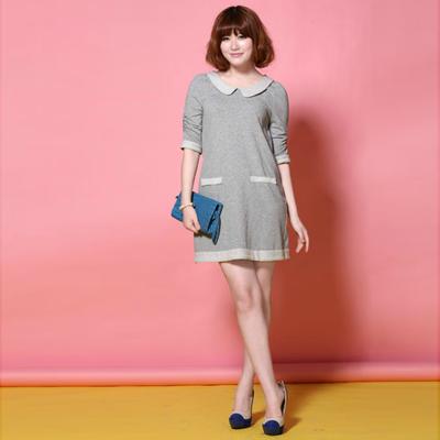 t&w春季时尚流行元素连衣裙