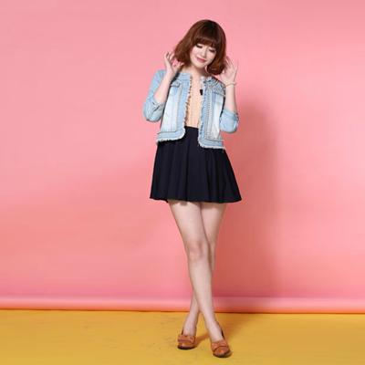 t&w春季时尚流行元素连衣裙三