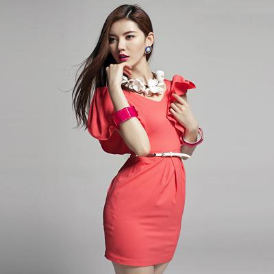 伊美惠夏裝連衣裙