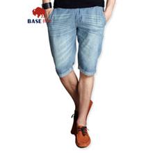 BaseRevolu 2014夏季新款 男士时尚潮牌牛仔短裤