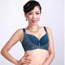 缤纷丽人薄杯 专为丰满女性设计 刺绣CD杯调整型大码文胸套装