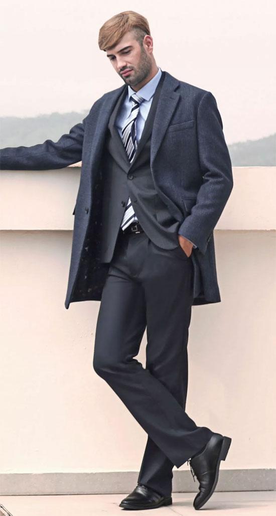 富绅男装秋冬穿搭术 彰显您的男性魅力!