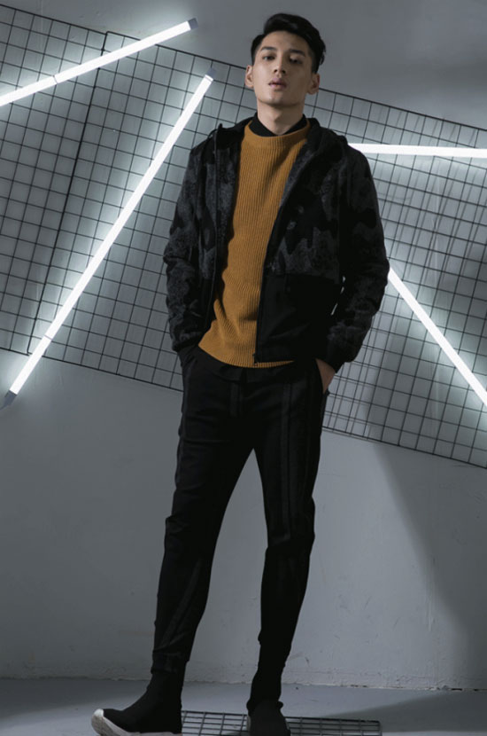 莎斯莱思男装刮起一阵运动风潮流 时髦温度两不误!