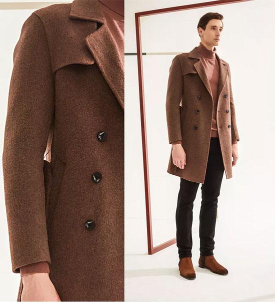 1943S 双面呢大衣来袭 给你37℃的恒温来体验寒冬!
