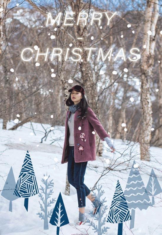 渔:把圣诞色穿上身 吸睛度满分!