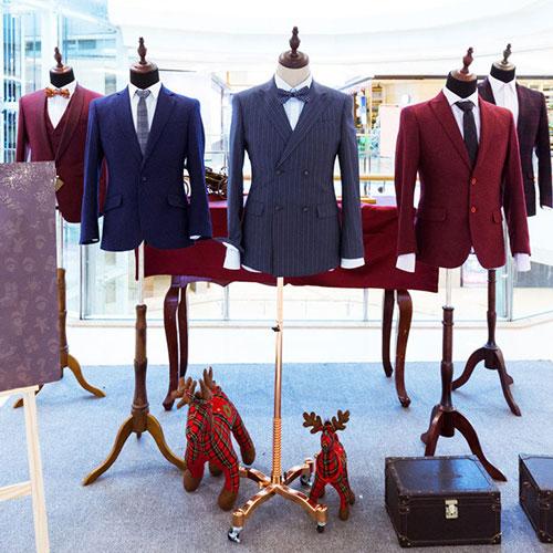 男装私人定制店面装修大全,90%的人都收藏了!