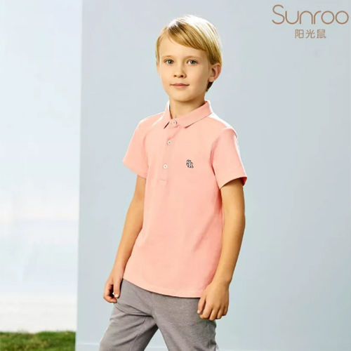 粉色当道 男童穿浅粉有多鲜?