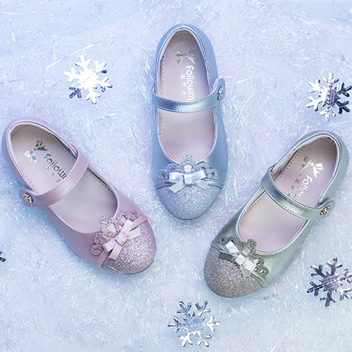 富罗迷2021新款爱莎公主高跟软底鞋