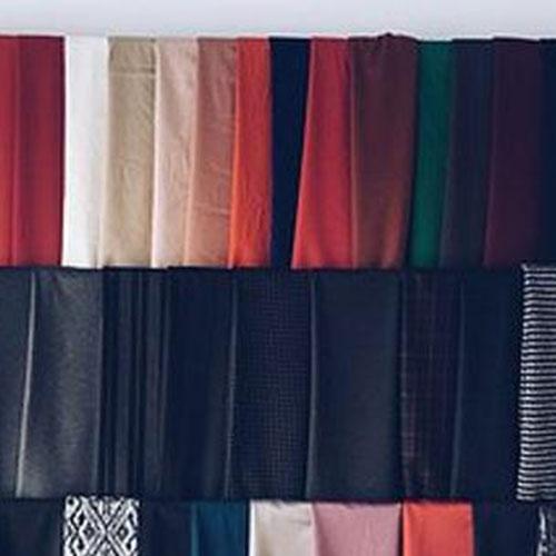 中国轻纺城:人棉布创意色泽花型面料销售局部活跃