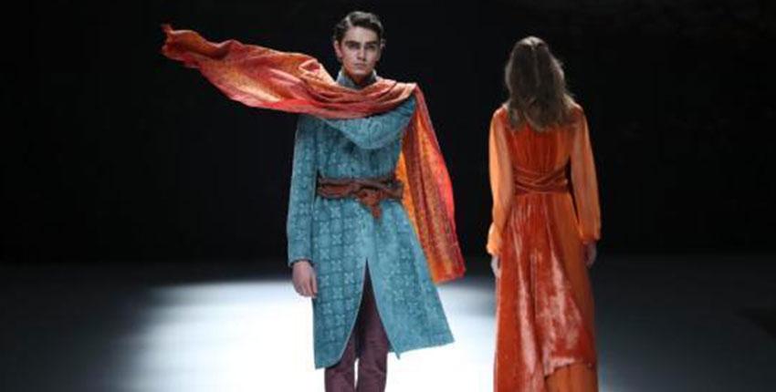 中国国际时装周 T台秀出多样风情