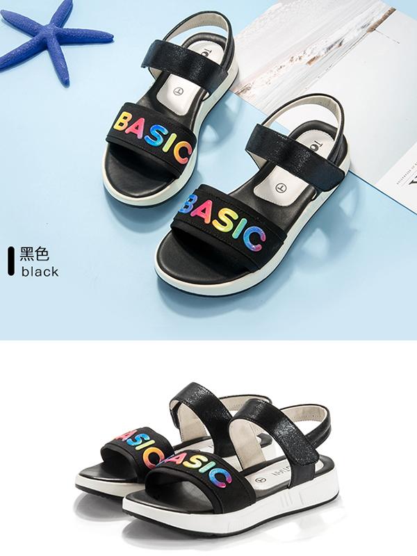 童天女童凉鞋