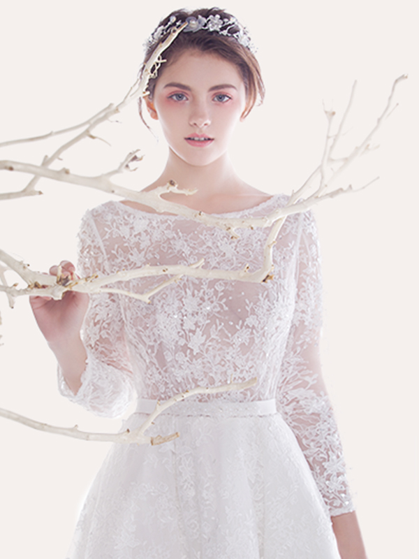 歐泊蕾新款婚紗
