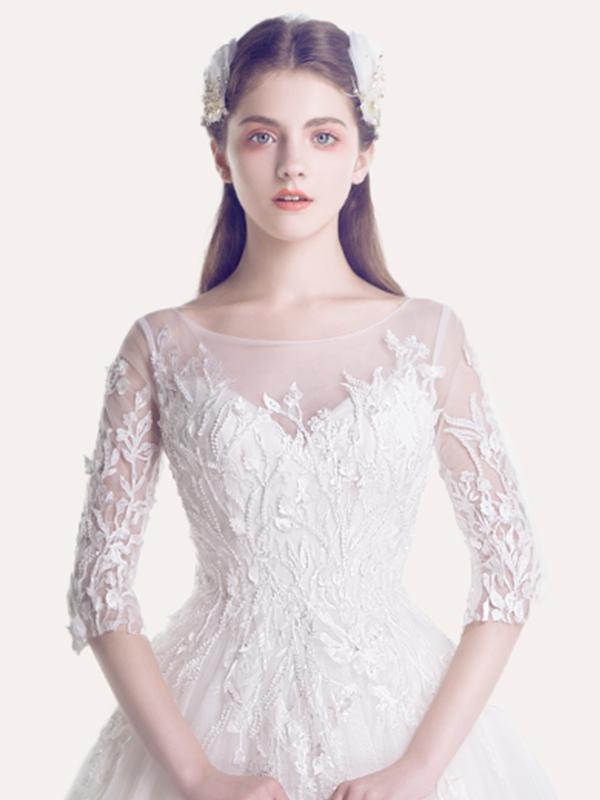 歐泊蕾新款時尚婚紗