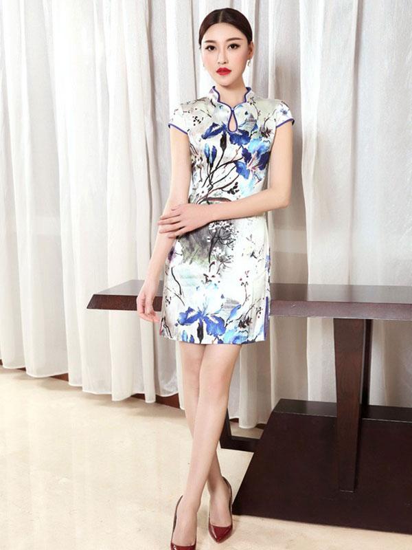 香西旗袍2018年最新春夏产品