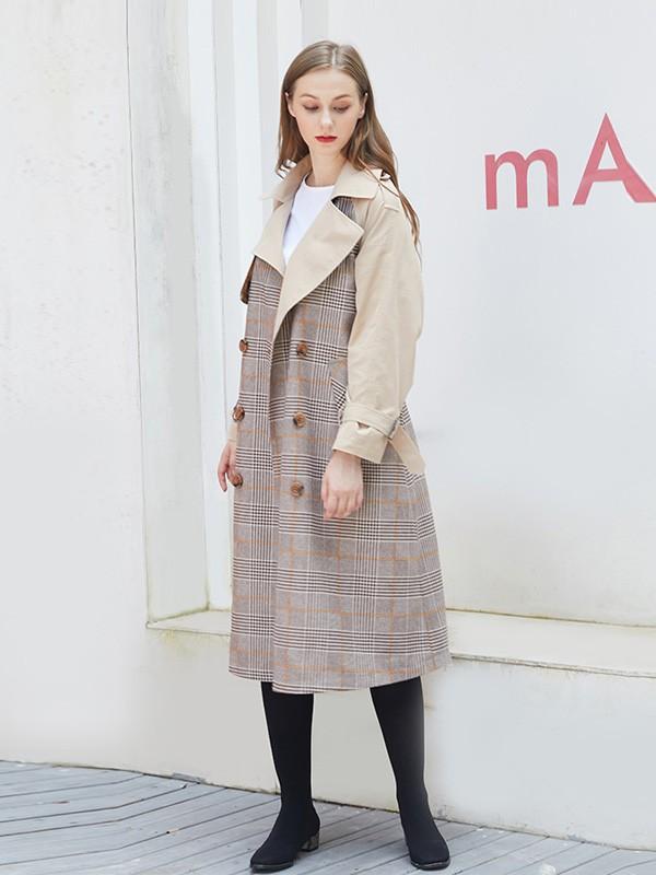 萨达纳2018秋冬款气质女装