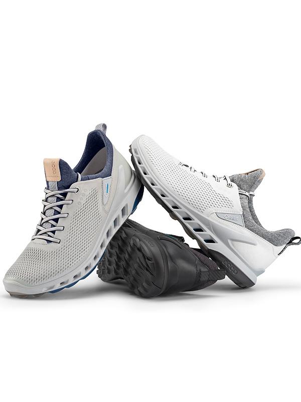 ECCO 男子高爾夫健步透氧專業運動鞋系列