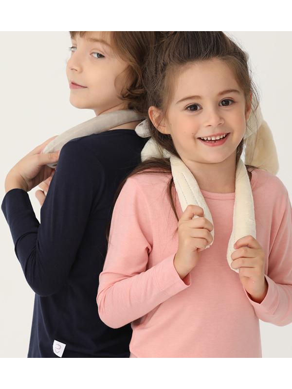 CU/誠棉優品兒童發熱打底保暖內衣套裝