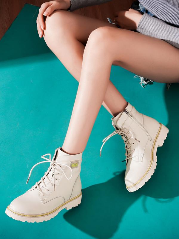 圣恩熙2019新款英伦风马丁靴