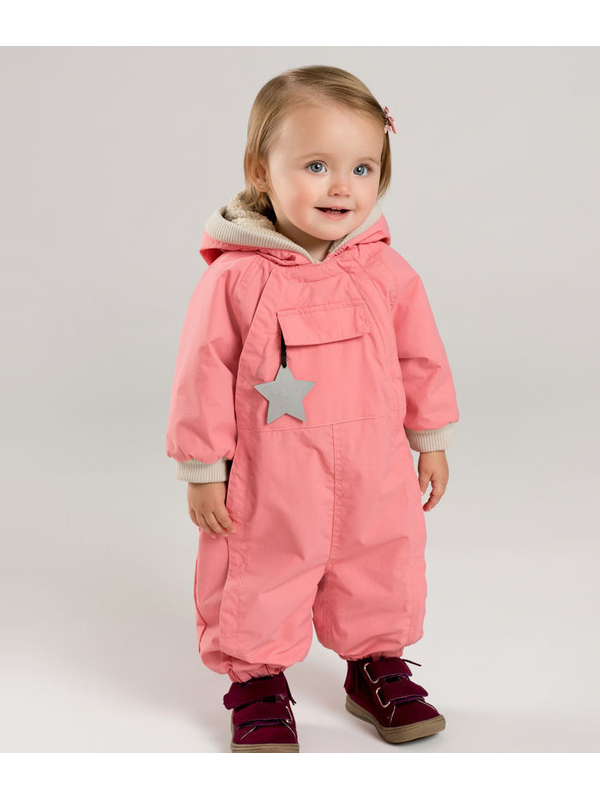 戴維貝拉2019冬季新款男女寶寶連體爬服