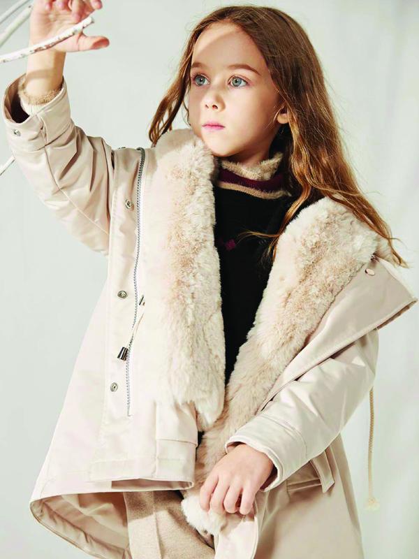 MQD童装2019冬季女童新品展示