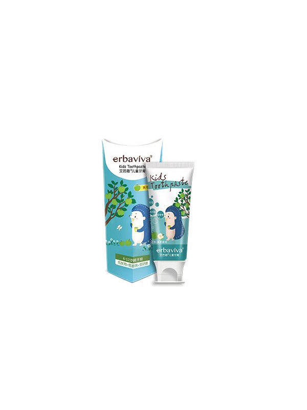 艾芭薇儿童牙膏(换牙期)青苹果味 50g