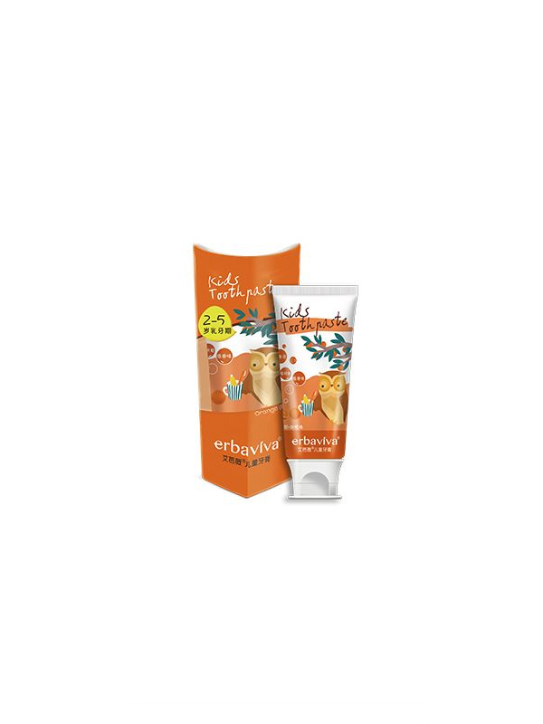 艾芭薇儿童牙膏(乳牙期)甜橙味 50g