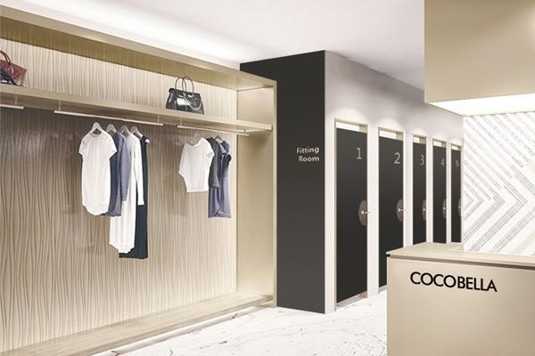 cocobella女装店铺效果图