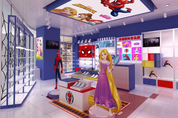 迪士尼公主店铺形象图