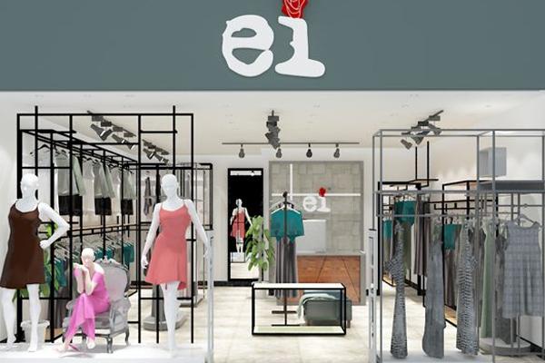 EI 品牌女装店铺形象效果展示