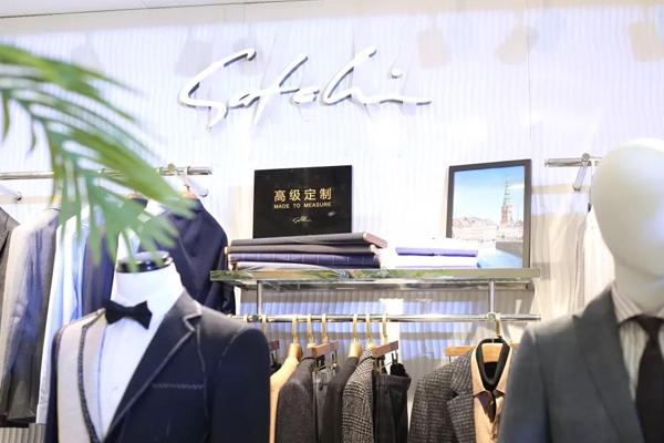 沙馳男裝店鋪實景