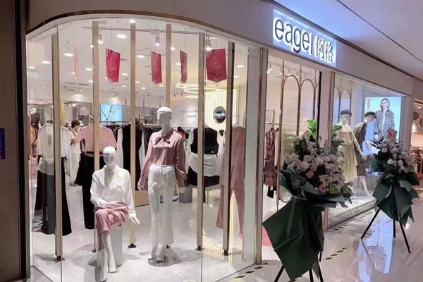 例格品牌女裝店鋪實景