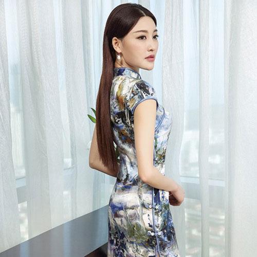 香西旗袍傳承中華民族傳統服裝之美