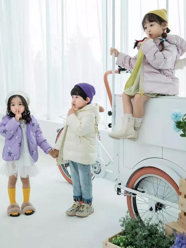 羽成扉一个坚持做原创设计的童装品牌